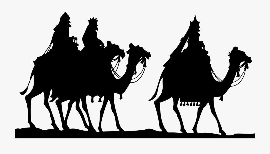 Biblical Magi Epiphany We Three Kings Clip Art - Three Wise Men Png, Transparent Clipart