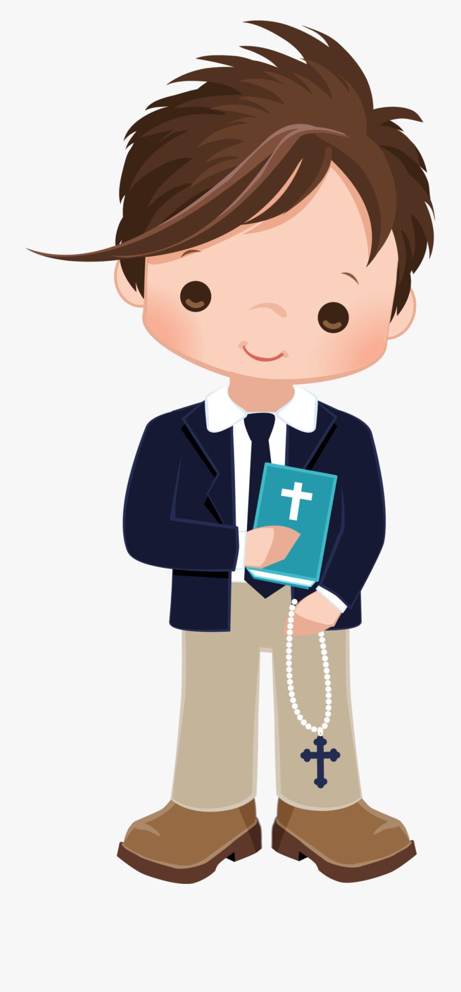 Clip Art Communion Boy Png, Transparent Clipart