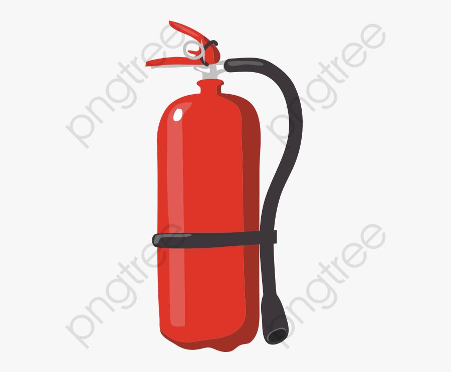 Transparent Fire Hat Clipart - Fire Extinguisher Transparent Background, Transparent Clipart