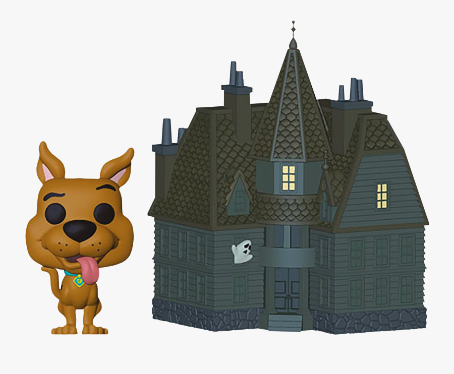 Scooby Doo With Haunted Mansion Pop Town Vinyl Figure - Funko Pop Scooby Doo Haunted Mansion, Transparent Clipart
