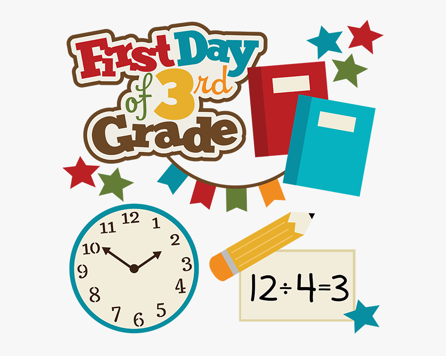 Transparent First Day Of School Png - 1st Day Of 1st Grade Clipart, Transparent Clipart