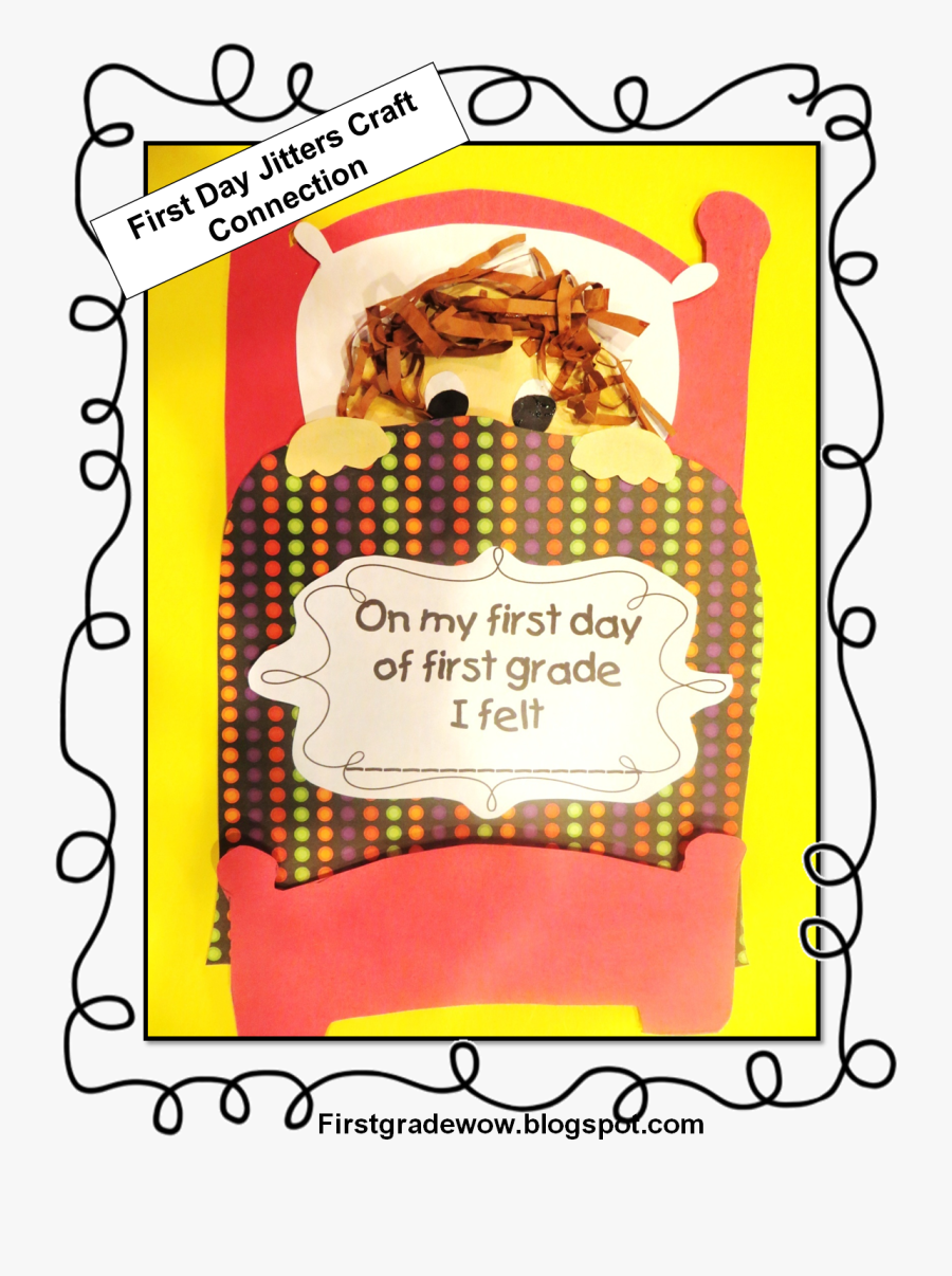 Transparent First Day Of Spring Clipart - First Day Jitters Project, Transparent Clipart