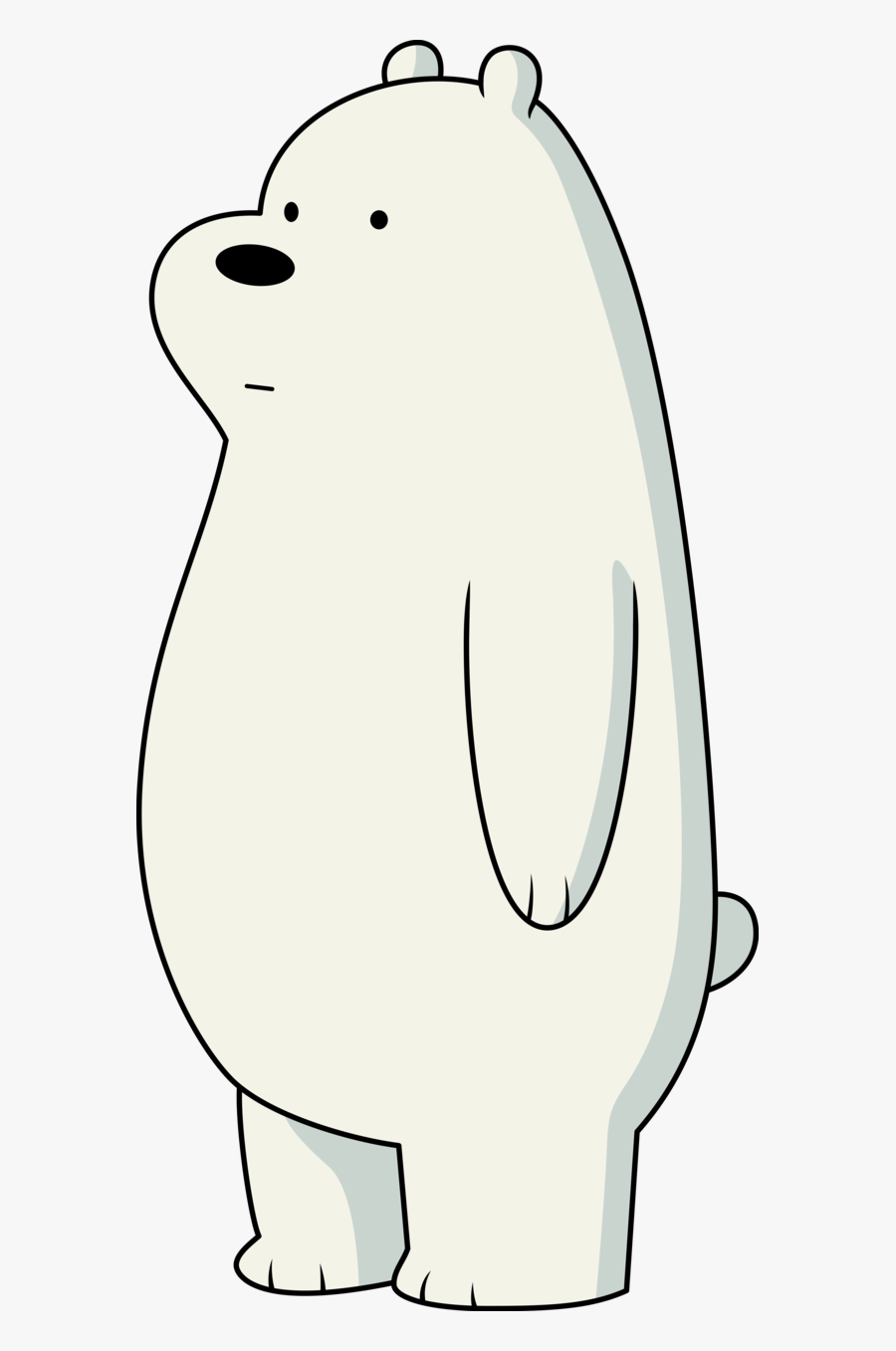 Polar Bear Ice Bear Giant Panda Grizzly Bear - Polar We Bare Bears, Transparent Clipart