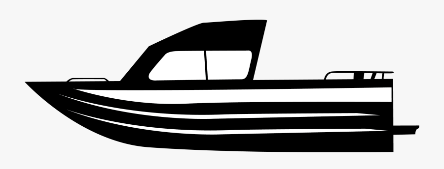 Fishing Boat Black And White Clipart Clipart Black White Boat Free Transparent Clipart Clipartkey