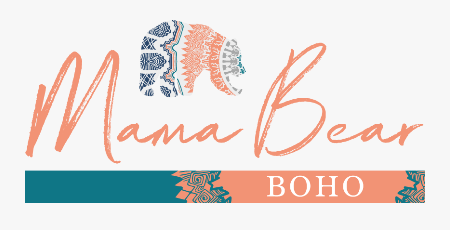 Mama Bear Boho - Madly In Love, Transparent Clipart