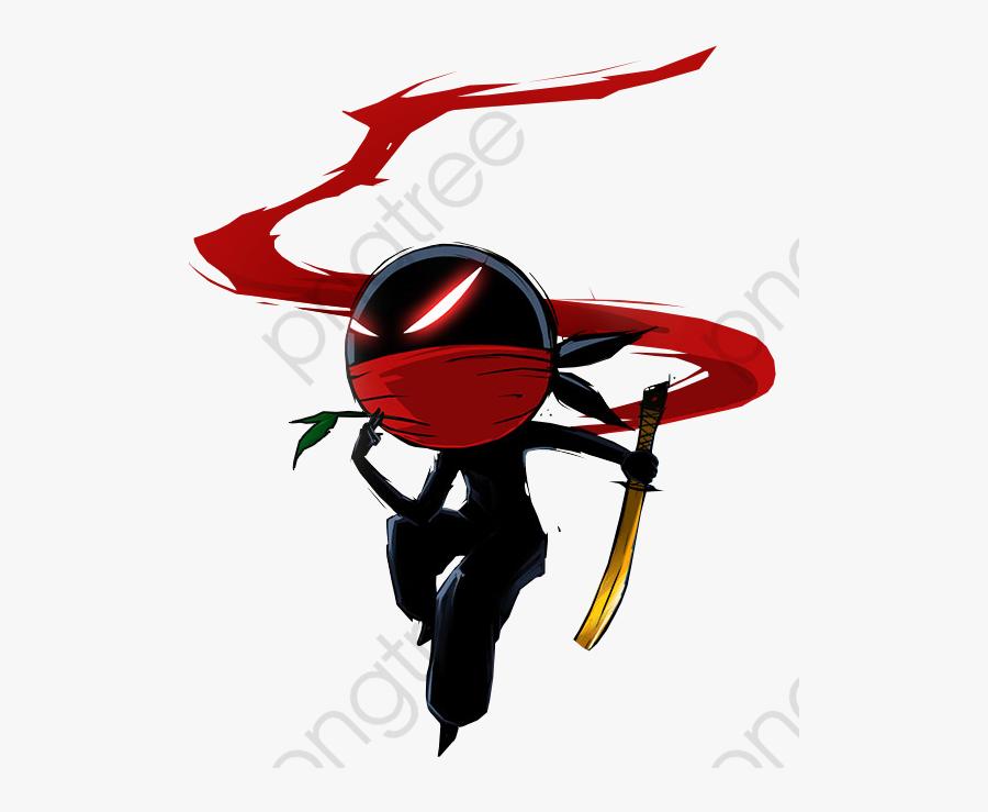 Ninja Clipart Commercial - Shadow Ninja Png, Transparent Clipart