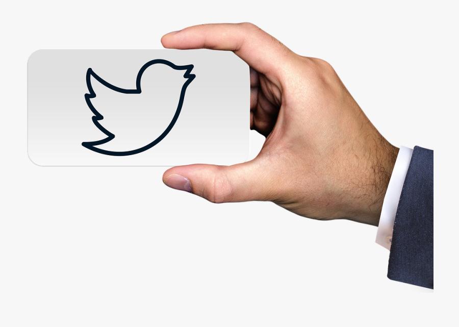 Social Media Business Man, Transparent Clipart