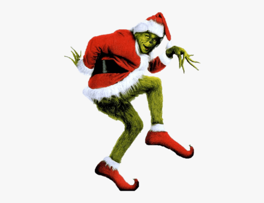 Christmas Grinch Santa Png - Grinch Stole Christmas, Transparent Clipart