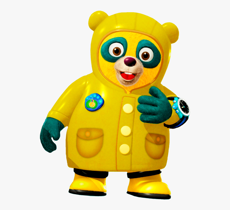 Special Agent Oso Wearing Rain Coat - Special Agent Oso Png, Transparent Clipart