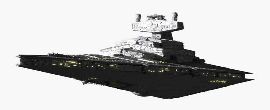 Battleship - Imperial Star Destroyer Png, Transparent Clipart