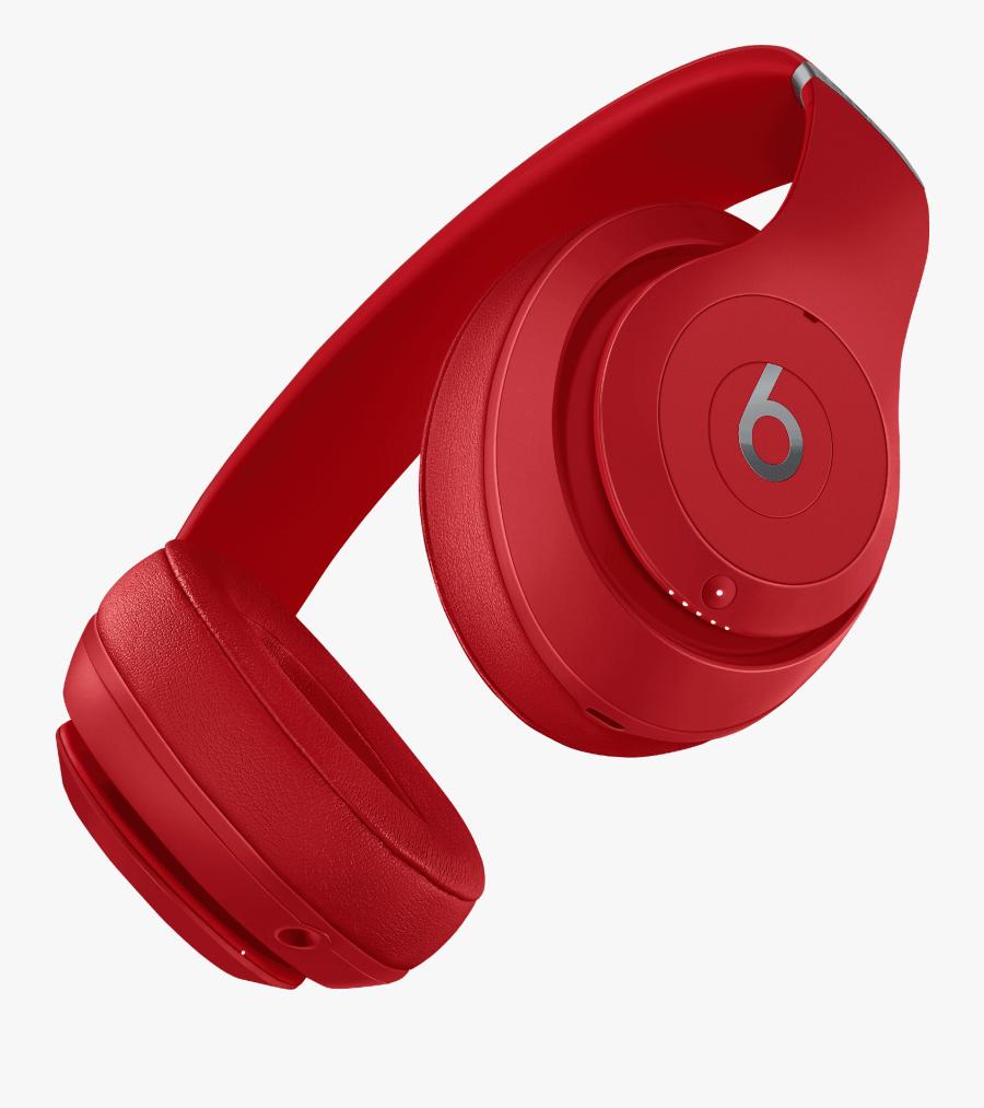 Wireless Headphones Bose Red - Beats Studio 3 Red, Transparent Clipart