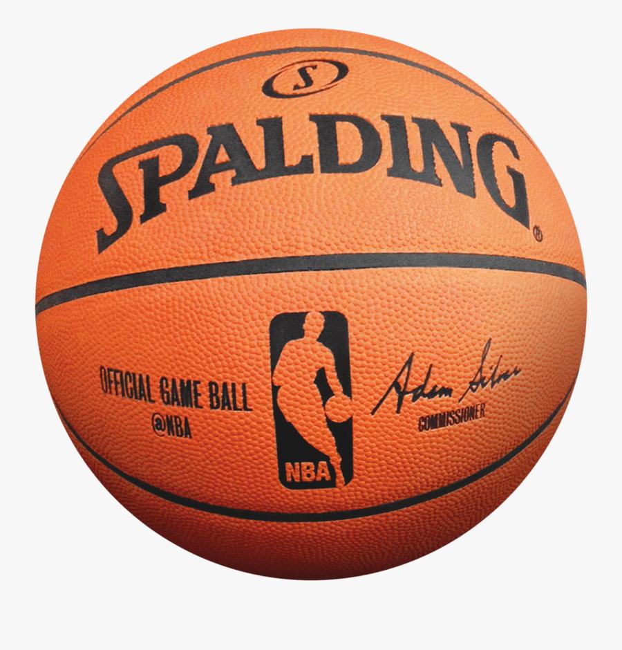 Spalding Basketball Transparent Png - Spalding Basketball Png, Transparent Clipart