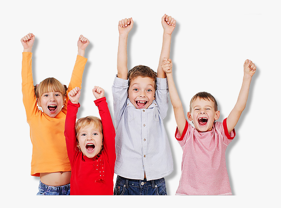 Happy Kid Png - Kids Cheering Png, Transparent Clipart