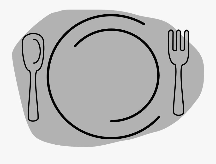 Dish Clipart Plate Cutlery - Kinfe And Fork Clipart Png, Transparent Clipart