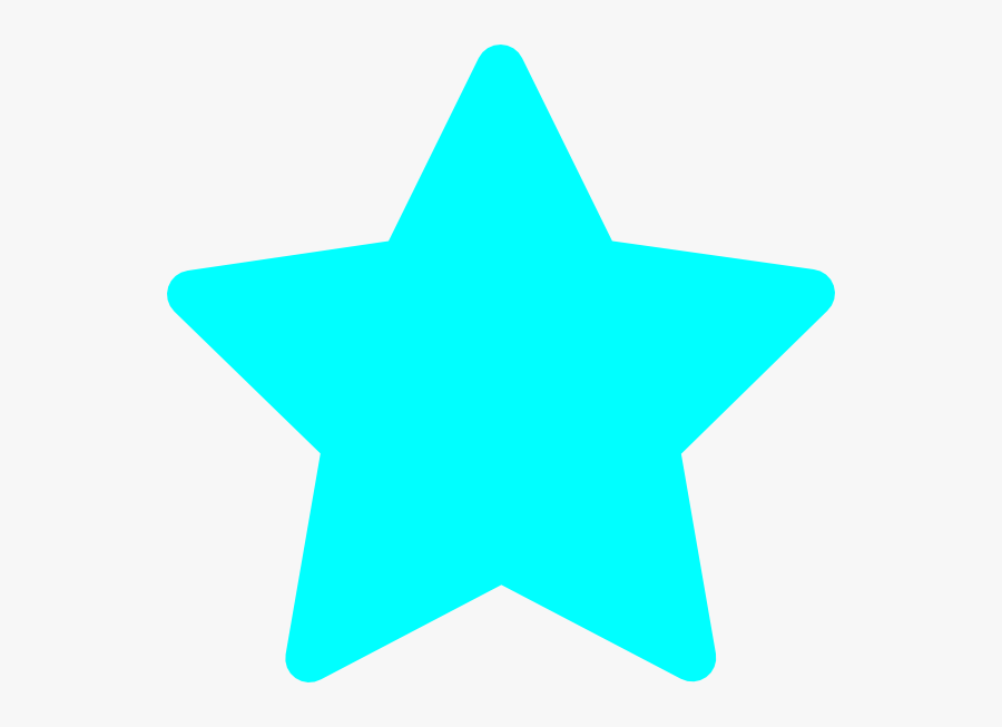 Awesome - Lightblue Clipart - Rating Empty Star Png, Transparent Clipart