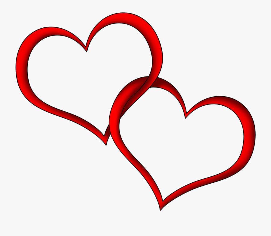 Heart Images, Heart Pictures, My Heart, Heart Outline, - Double Heart Outline Png, Transparent Clipart