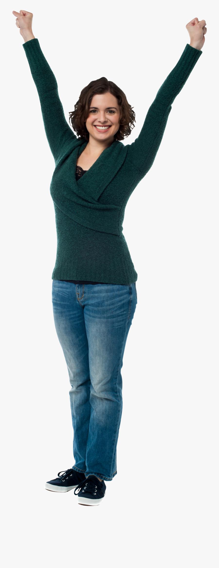 Happy Person Png Transparent Images - Woman Stock Photo Png, Transparent Clipart