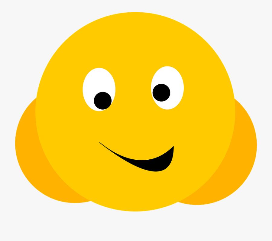 Smiley Face Happy Smiling - Gif De Virus Png, Transparent Clipart