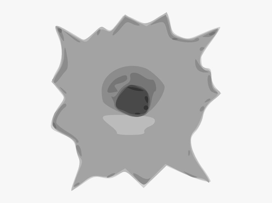 Bullet Hole Clip Art, Transparent Clipart