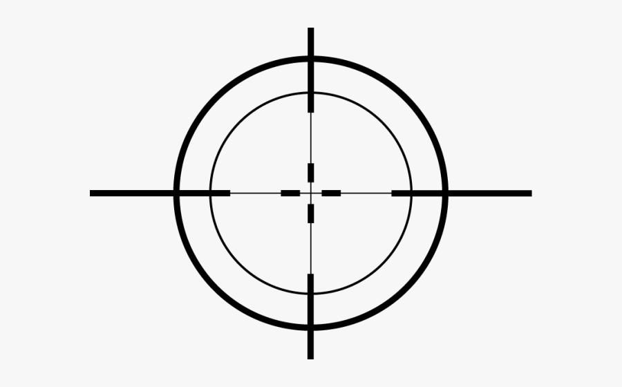 Transparent Crosshair, Transparent Clipart