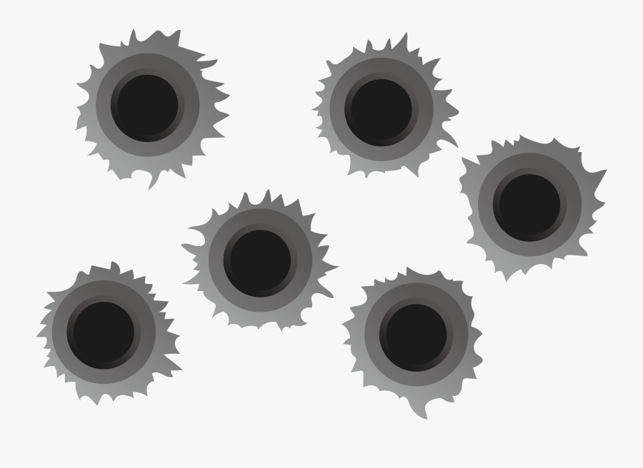 Bullet Holes Png File - Bullet Holes .png, Transparent Clipart