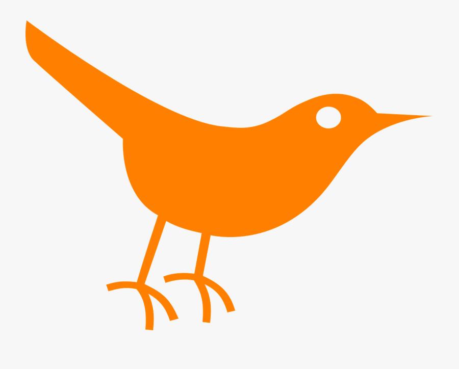 Twitter Bird Clip Art At Clker - Twitter Bird Icon, Transparent Clipart