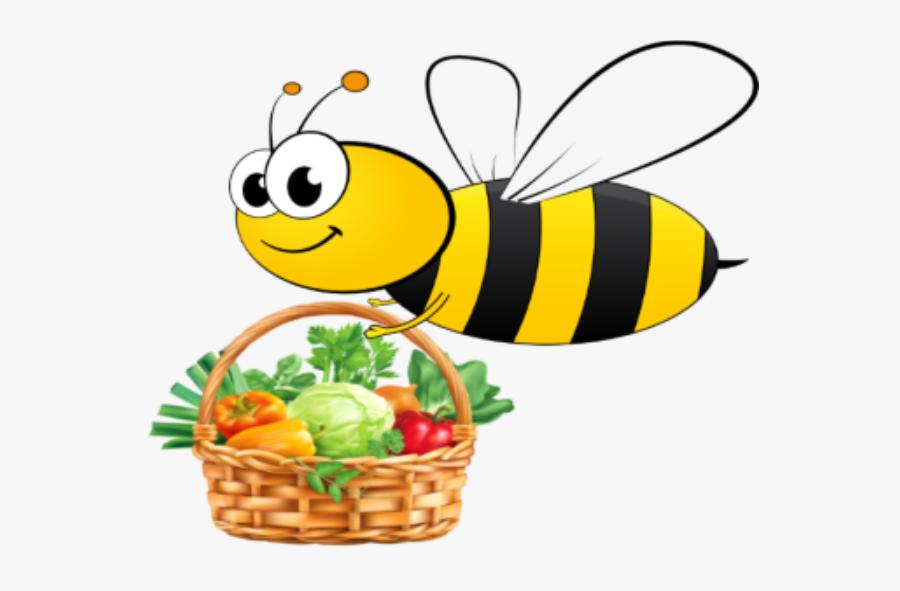 Human Vegan Bank - Basket Vegetables And Fruits Clipart, Transparent Clipart