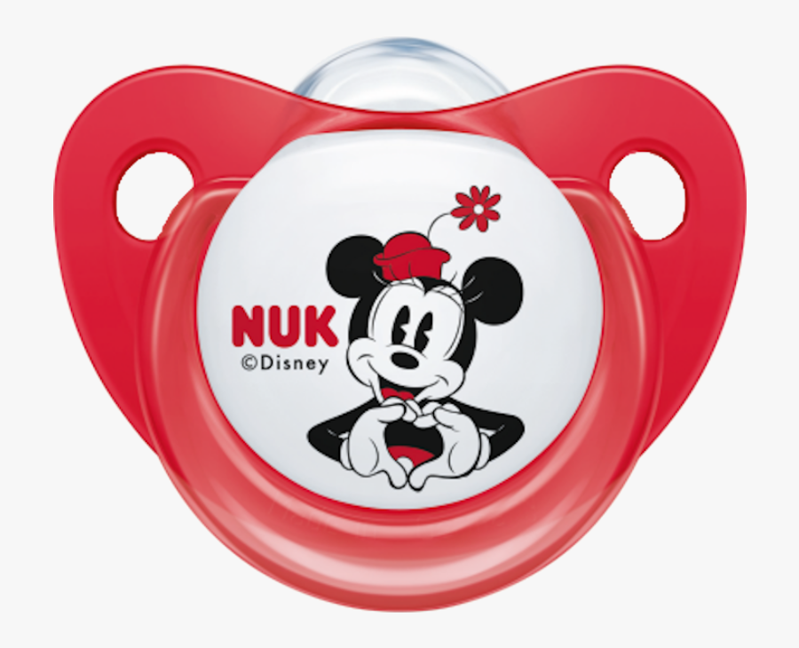 Nuk Disney Mickey Minnie Pacifier Soother 0 6 Months - Nuk, Transparent Clipart