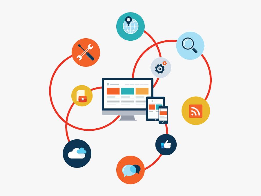 Transparent Solutions Clipart - Web App Development Png, Transparent Clipart