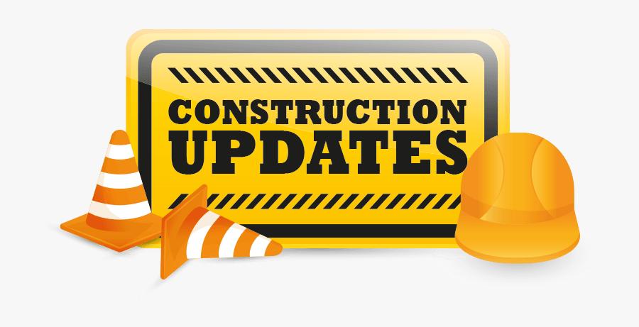Construction Clipart Project - Construction Update, Transparent Clipart