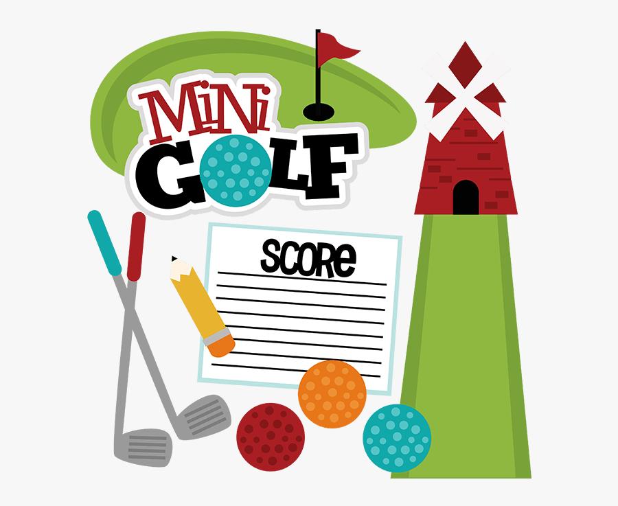 Mini Golf Clip Art - Clip Art Miniature Golf, Transparent Clipart