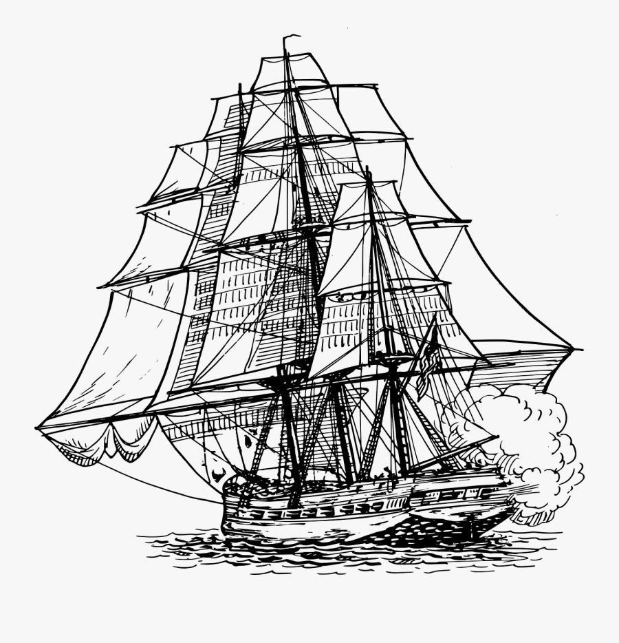 Transparent Mayflower Clipart - Frigate Png, Transparent Clipart