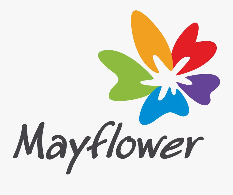Mayflower Clipart Single Flower - Mayflower Design, Transparent Clipart
