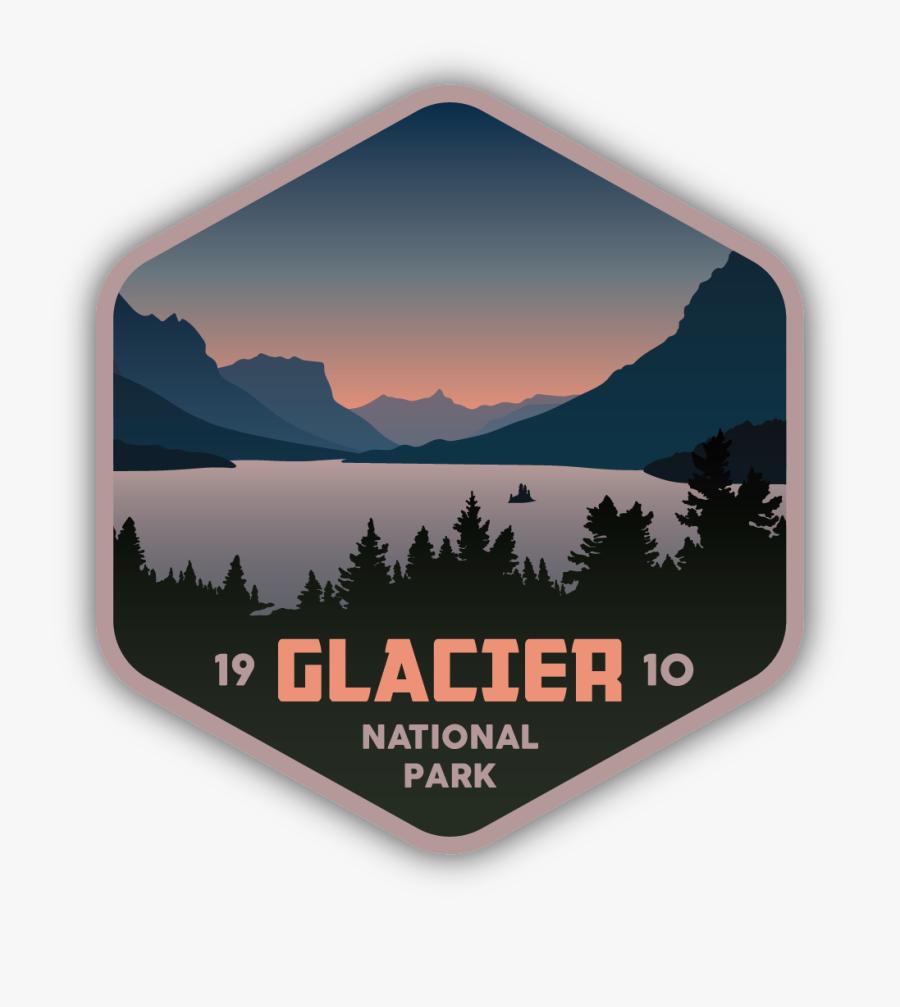 Glacier National Park - Summit, Transparent Clipart