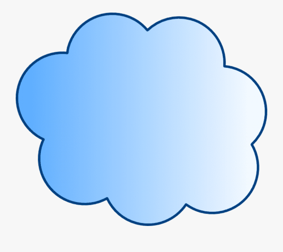 Free Png Download Blue Cloud Png Images Background - Visio Clouds, Transparent Clipart