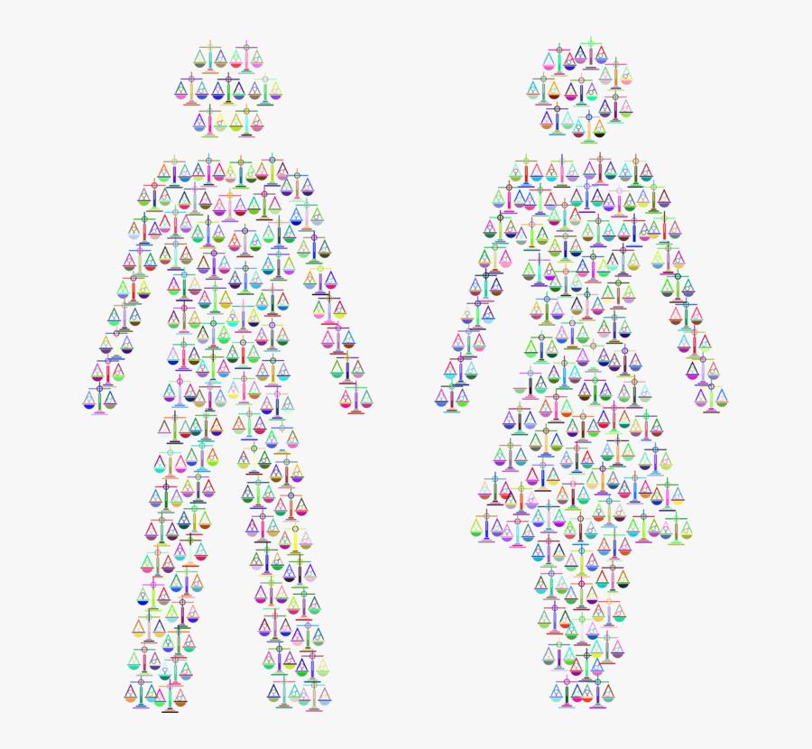 Gender Symbol Social Equality Gender Equality Male - Dibujos De Navidad De La Igualdad De Genero, Transparent Clipart