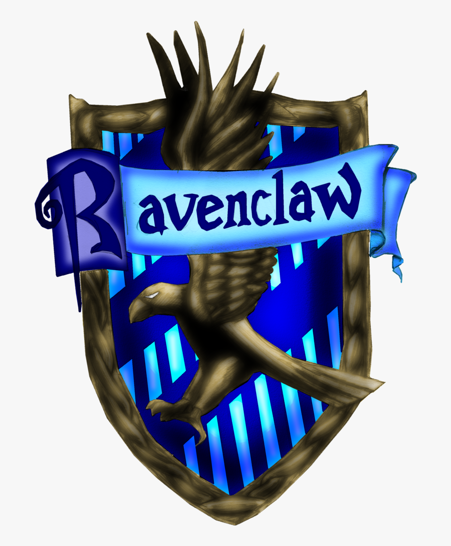 "Ravenclaw House Harry Potter And The Philosopher""s - Hogwarts Gryffindor Ravenclaw Harry Potter, Transparent Clipart"