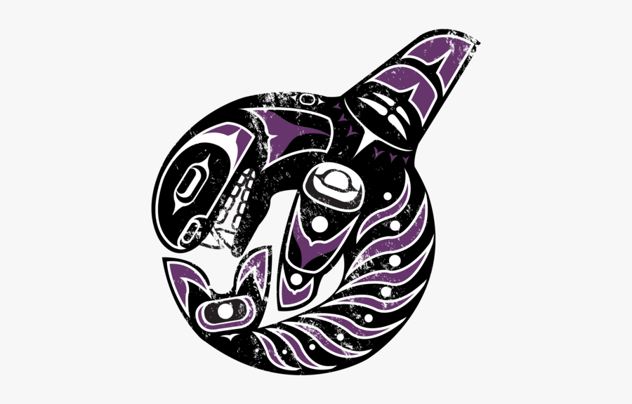 Pacific Northwest Native American Art Patterns, Transparent Clipart