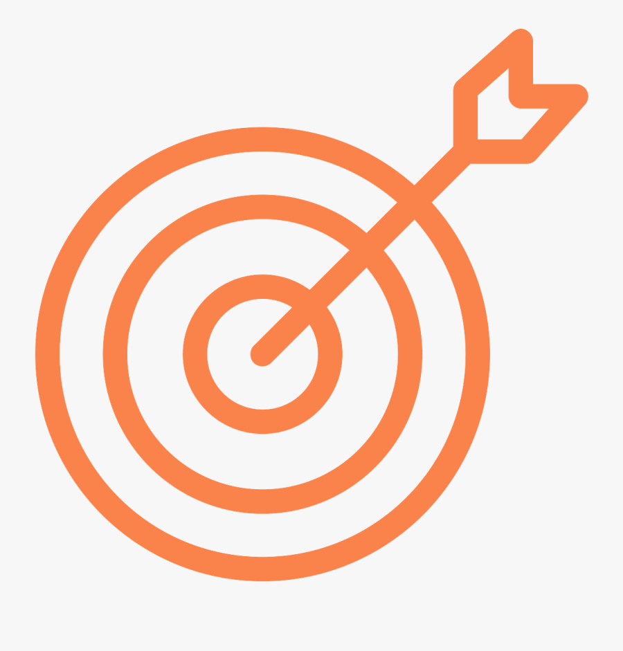 Partner With Federal Agencies To Target Priority Outcomes - Target Icon, Transparent Clipart