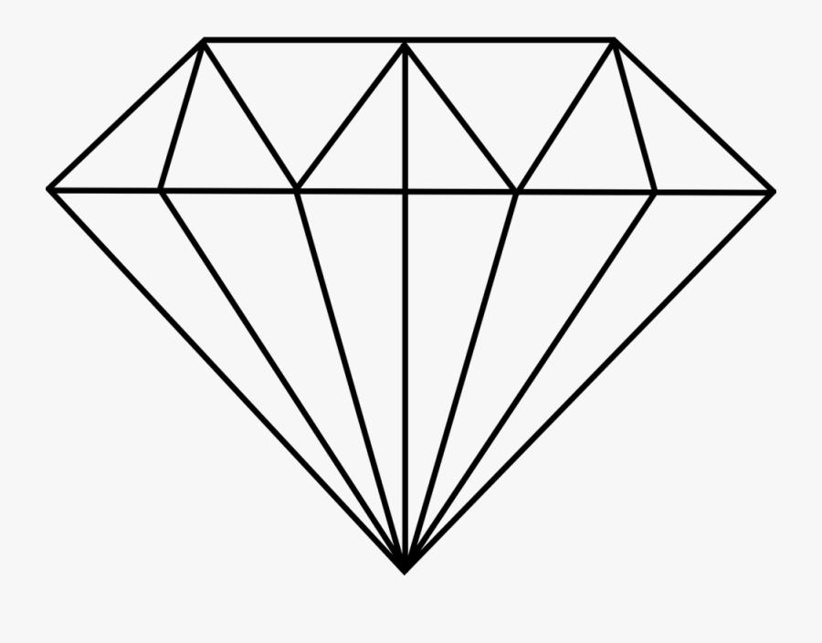 Diamond, Cut, Polished, Jewelry, Precious, Gem, Carat - Diamond Drawing, Transparent Clipart