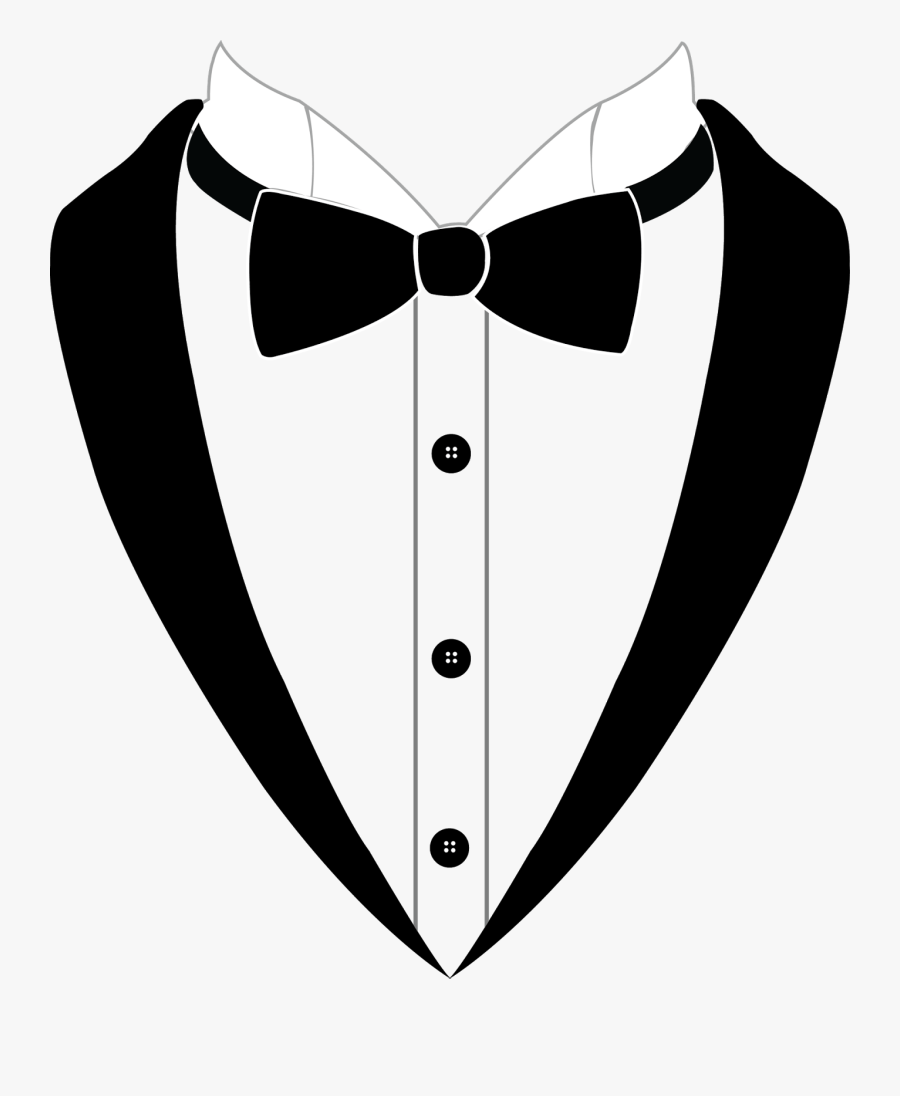 Suit Clipart Suit And Tie - Bow Tie Suit Clipart, Transparent Clipart