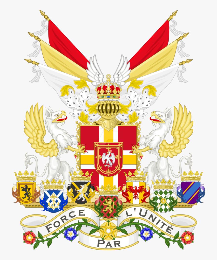 Coat Clipart Suite - Empire Coat Of Arms, Transparent Clipart