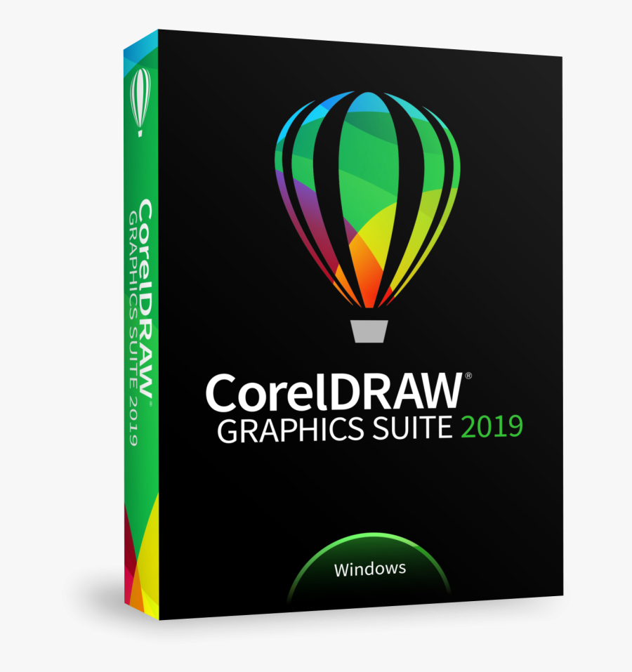 Coreldraw 2019 Price India - Corel Draw 2019 Box Windows, Transparent Clipart