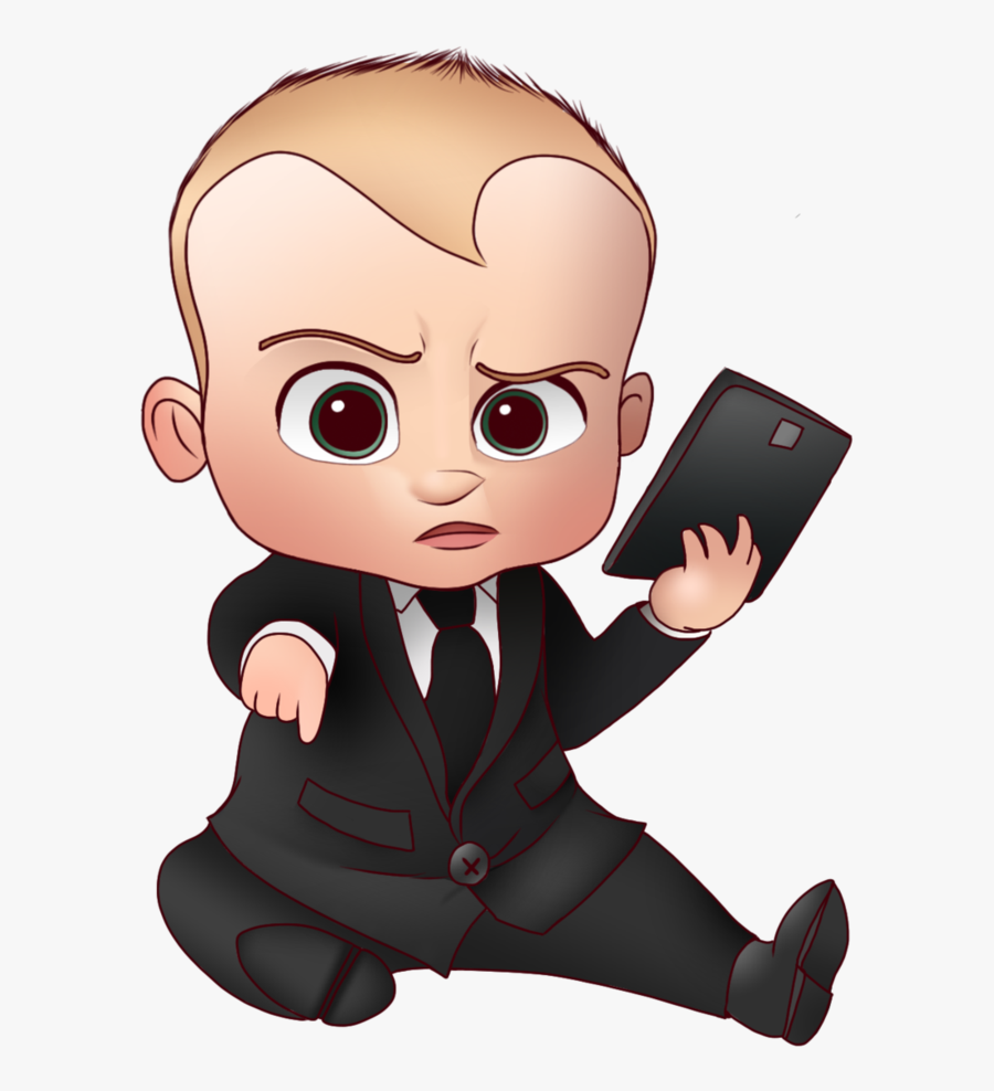 Transparent Boss Baby Clipart - Boss Baby Reading A Book, Transparent Clipart