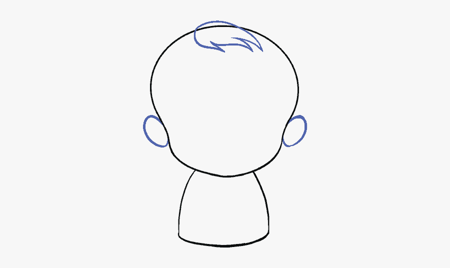 How To Draw Baby - Draw A Easy Baby, Transparent Clipart