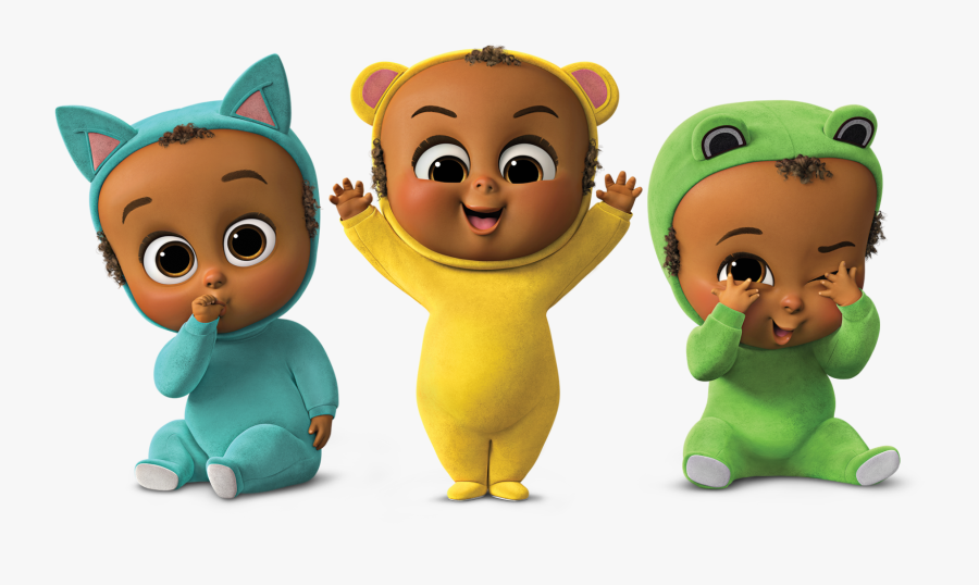 Boss Baby The Triplets, Transparent Clipart