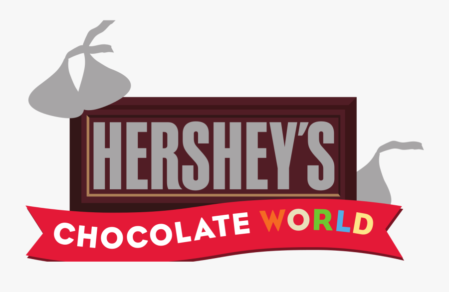 Clip Art Cliparts For Free - Hershey's Chocolate World Logo, Transparent Clipart