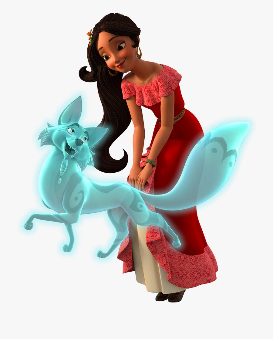 Clip Art And Zuzo Disney Princess - Elena Of Avalor Zuzo, Transparent Clipart