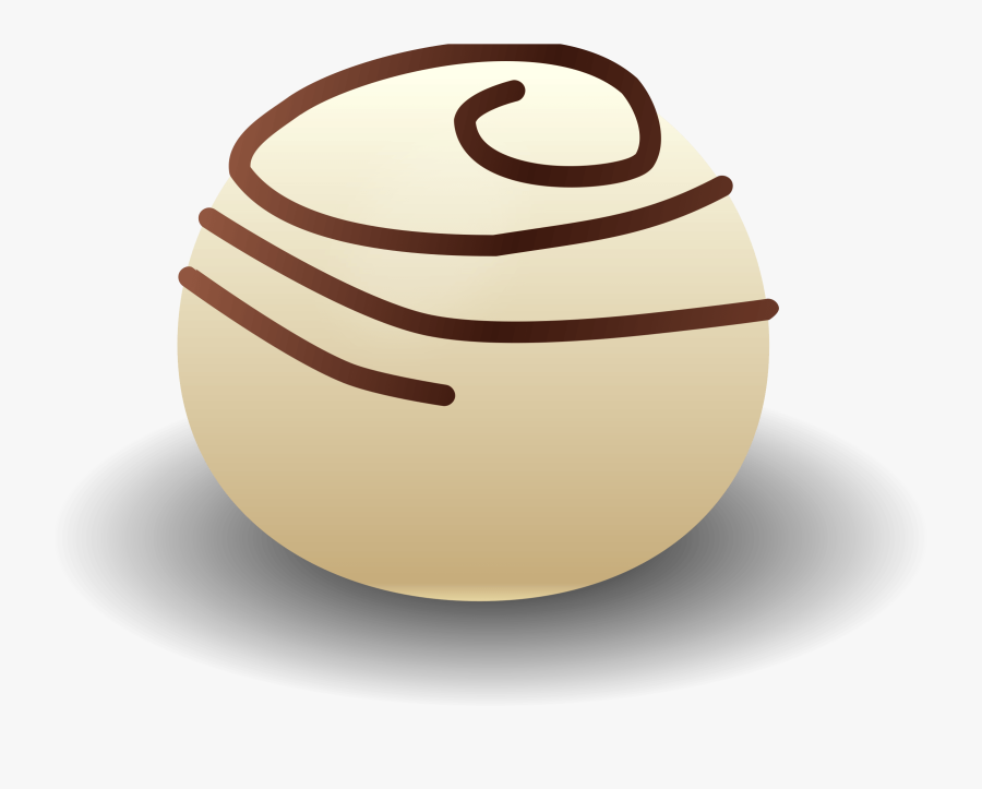 Food,sphere,praline - Chocolate Truffle Clipart, Transparent Clipart