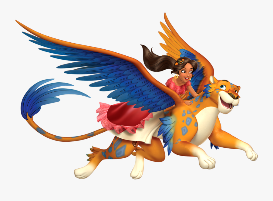 Transparent Elena Of Avalor Clipart - Elena Of Avalor And Skylar, Transparent Clipart